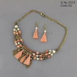 Handmade Beaded Western Necklace Set