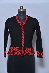 622 Woolen Ladies Cardigan