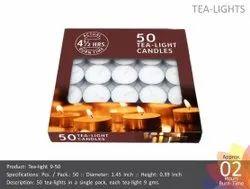 Tea Light Candle 9-50