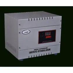 iMAC Micro controller 10 kVA Single Phase Servo Voltage Stabilizer, 220 V, Output Voltage: 450 V