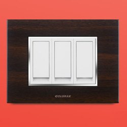 Goldmak Modern 3 Switch Electrical Switch Board