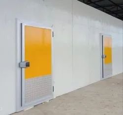 PRE PAINTED AND POWDER COATED PUF Insulated Door, Pcgi