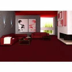Red PVC Floor Carpet, Size: 20m (length)