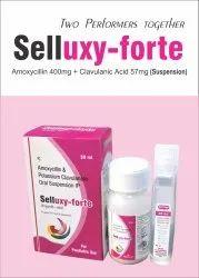 Amoxycillin 400mg   Clavulanic Acid 57mg/5ml Dry Syp
