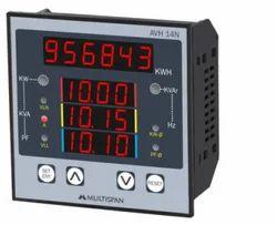 Three Multispan Multi Function Meter With Rs-485 Modbus, Model Name/Number: Avh 14n, 230v Ac