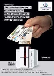 PVC Evolis id card printer