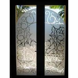 Designer Glass Door, For Home