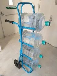 S.P.ENGINEERS Industrial Water Bottle Trolley, Size/Dimension: 1.5 Ft X 4 Ft, Capacity: 200 Kg