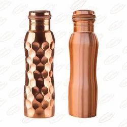 Pure Copper Water Bottle 1 Litre