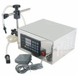 SMALL DESKTOP MODEL DIGITAL LIQUID SOAP FILLING MACHINE