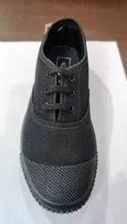Unisex Tennis Canvas School Shoes, Lace