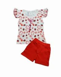 Baby Girls Top With Pants Dgn 522