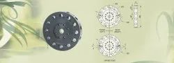 Mild Steel VDI Tool Discs Static 12-Station, For Cnc Machinery
