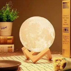 Moon Lamp 3D With Touch Control Adjust Brightness Moon Light With Stand