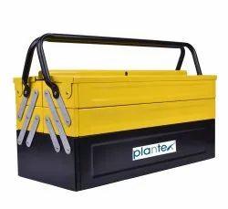 METAL Plantex MS Tool Box (Yellow & Black), Model Name/Number: APS-333-Y, Size: 54.8 x 30 x 29.4 cm