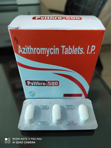 Azithromycin 500mg Tablet - Pvithro-500