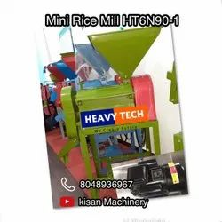 Automatic 6N90 MINI RICE MILL, 3 HP, Single Phase
