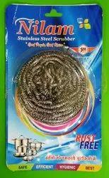 NILAM Steel Dish Scrubber