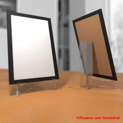 Transparent Square Acrylic Photo Stand, DIY (Do It Yourself)
