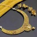Party Necklace Imitation Jewellery, Size: Free