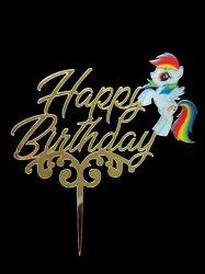 Acrylic Birthday Cake Topper