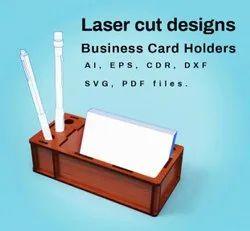 Laser Cut Designs Pen Stand