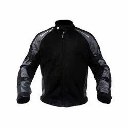 Heavy Duty Micro Mesh Men Black and Grey MOTOTECH Scrambler AIR Motorcycle Jacket