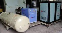 Airfield Corporation 100 HP Screw Compressor