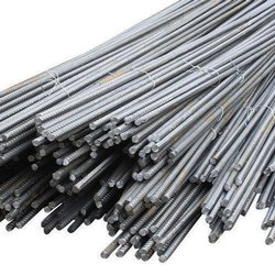 Mild Steel 8mm MS TMT Bars, For Construction, 12 meter