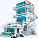 High Speed 3 Layer Mulching Film Roll Extrusion Film Making Machine