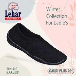 Women Fabric Rexine Ladies Ballerina Shoes