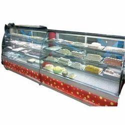 Korean Cake Display Counter