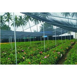 HDPE Plastic Prefab 50% Agro Black Shade Net