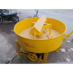 JEW-004 MS Pan Concrete Mixer