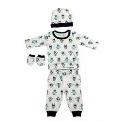 Multicolor Unisex Aithiha Cotton Knitted New Born Set, Age Group: 0-1yr