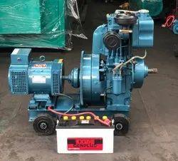 2020 7.5 Kw Bajaj-m Air Cooled Diesel Genset., Single Phase