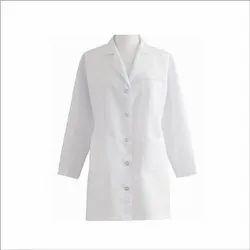 Unisex Pure Cotton Doctor Coat, Size: 40, 42