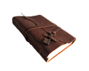 Vintage Leather Key Journal