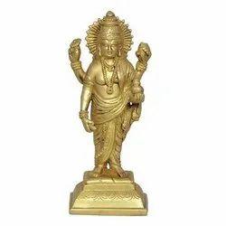 Sri Dhanvantri Brass Idol
