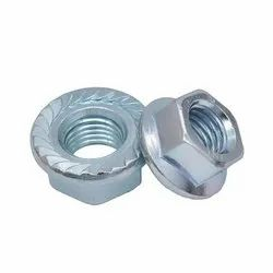 Galvanized Hex Flange Nut