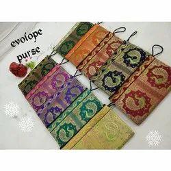 Cotton fabric Regular Envelope Purse