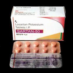 Losartan Potassium 50 Mg Tablet