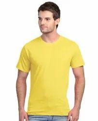 Cotton V Neck Half Sleeve Tshirt