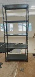 6 Feet White Metal Storage Rack