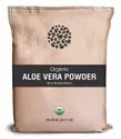 Herbs And Crops Green Organic Aloe Vera Leaves Powder, Packaging Type: Paper Bags