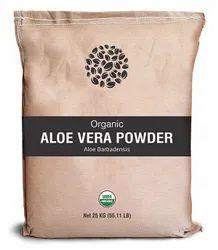 Organic Aloe Vera Leaves Powder
