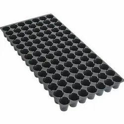 Plastic 98 Cavity Seedling Tray, Size: 530 X 270 X 55 Mm