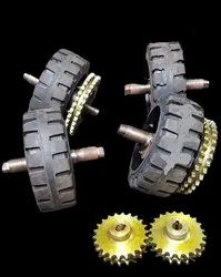 Trommel Tyre With Sprocket