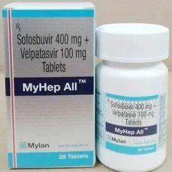 Sofosbuvir   Velpatasvir Myhep All