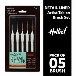 Mont marte Detail Liner Artist Taklon Brush Set